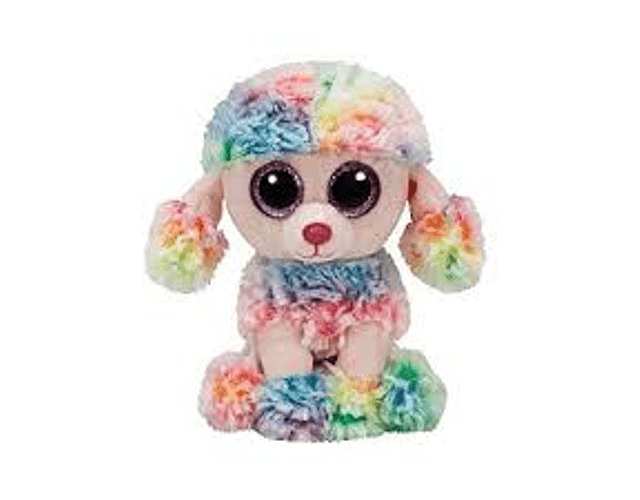 TY BEANIE BOOS POODLE MEDIANO