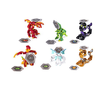 BAKUGAN S2 PACK LUJO