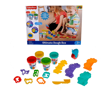 SET DE MASAS EN CAJA FISHER PRICE