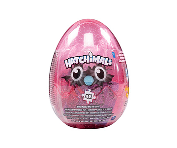HATCHIMALS PUZZLE HUEVO TRANSPARENTE