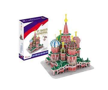 3D MC BASIL CATHEDRAL