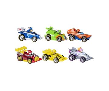 PAW PATROL READY RACE SET VEHICULOS METALICOS