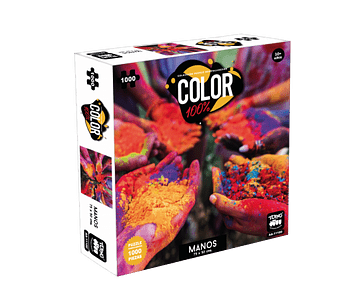 PUZZLE 1000 COLOR. MANOS.