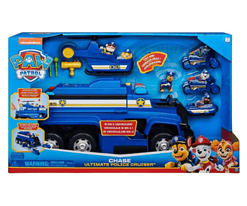 PAW PATROL VEHICULO 5 EN 1 CHASE