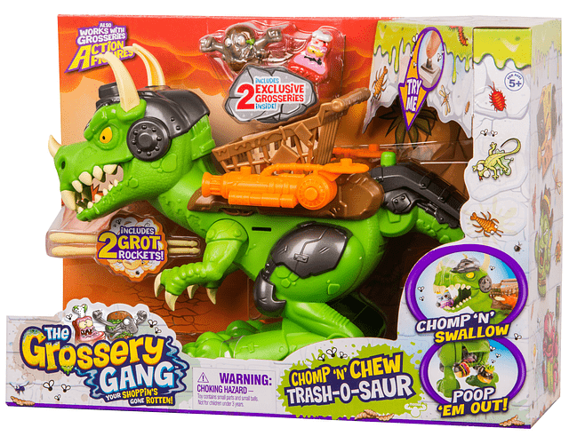 THE GROSSERY GANG S5 SET JUEGO DINO