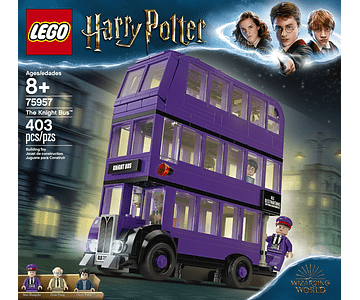 LEGO THE KNIGHT BUS HARRY POTTER