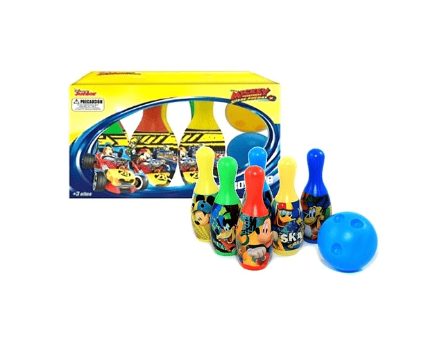 SET BOWLYNG MICKEY DISNEY