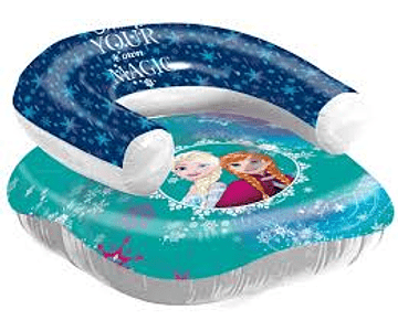 SILLON INFLABLE FROZEN DISNEY