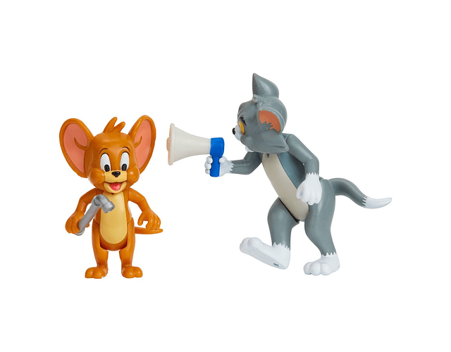 TOM Y JERRY PACK 2 FIGURAS