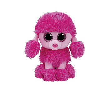 BEANIE BOOS PATSY POODLE ROSA
