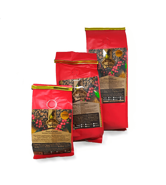 Café orgánico tipo pajarito