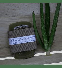 Jabón artesanal de Áloe Vera