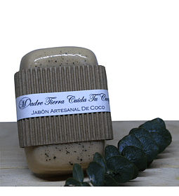 Jabón artesanal de coco
