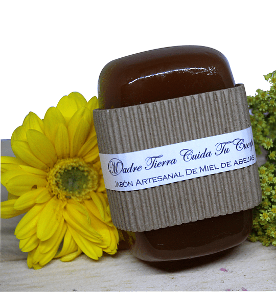 Jabón artesanal de miel