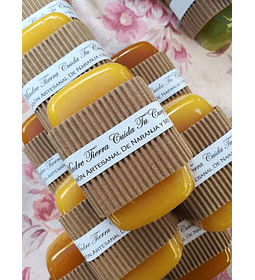 Jabón artesanal de Naranja