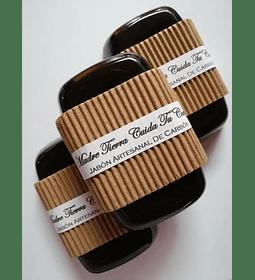 Jabón artesanal de Carbón Activo