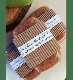 Jabón artesanal de Almendras