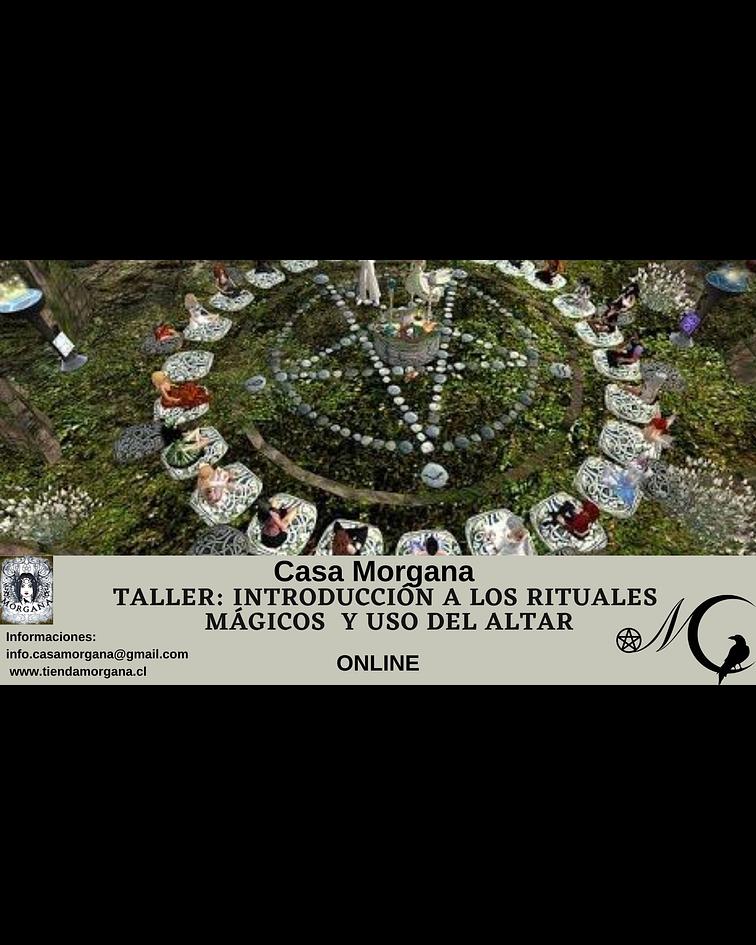 Taller Introducción a los Rituales Mágicos y Uso del Altar