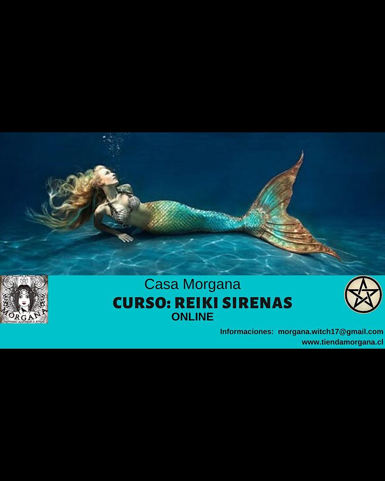 Curso: Reiki Sirenas