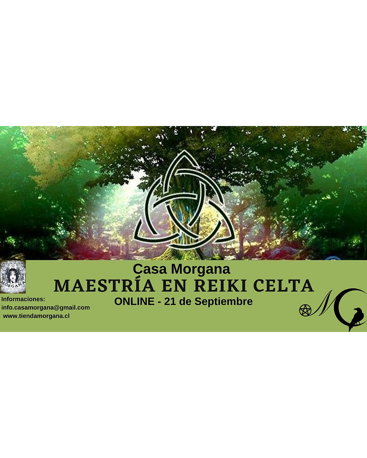 Maestría en Reiki Celta