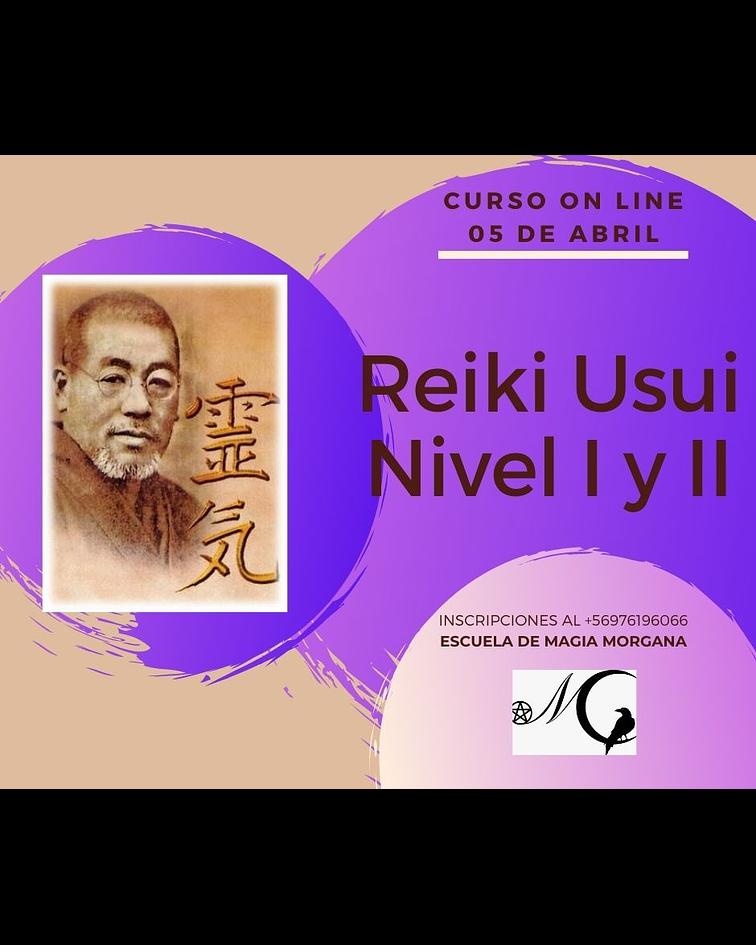 REIKI USUI - NIVEL I y II