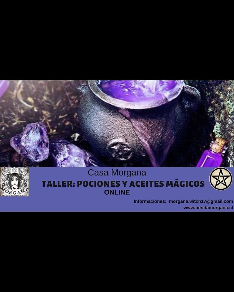Taller de Pociones y Aceites Mágicos
