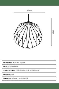 Lámpara Tsuki XL
