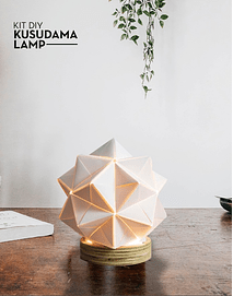Lámpara kusudama KIT DIY