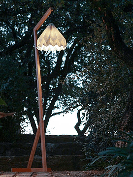 Floor lamp Mokuzai
