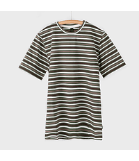 POLERA CIRO STRIPES BOSQUE