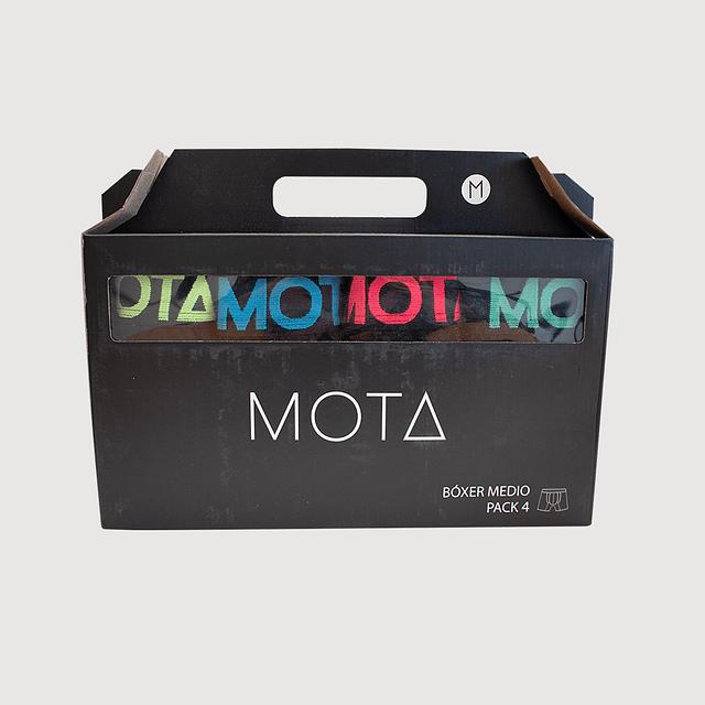 MT4180   BÓXER MEDIO PACK 4
