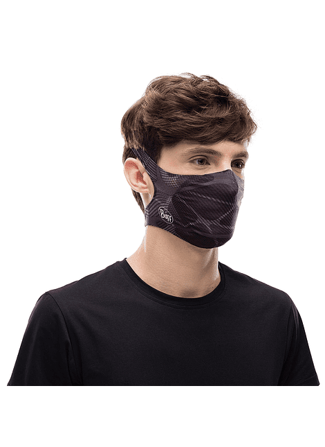 Mascarilla Buff Filter Mask Ape-X Black Adulto