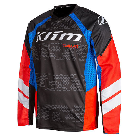 KLIM JERSEY DAKAR RED-ROCK - Image 1