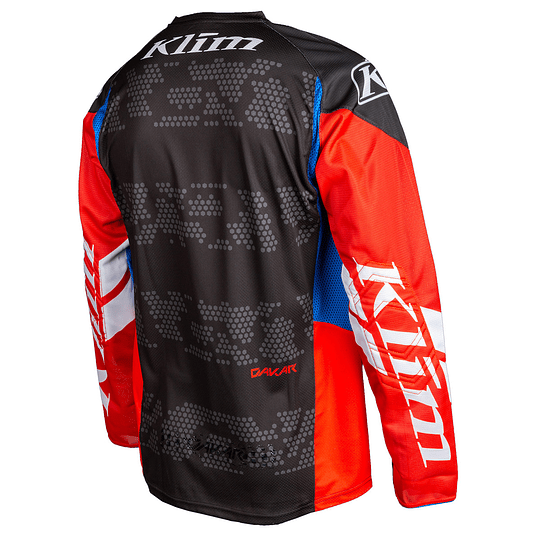 KLIM JERSEY DAKAR RED-ROCK - Image 2