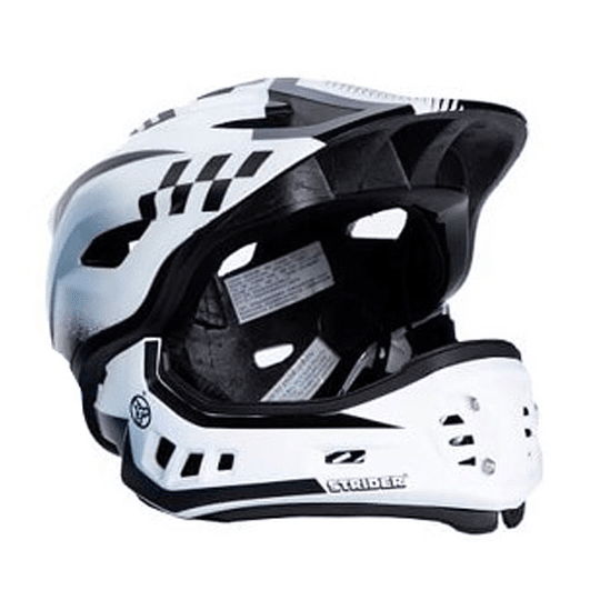 Strider ST-R Casco Integral Talla XS Fullface Desmontable Blanco - Image 1