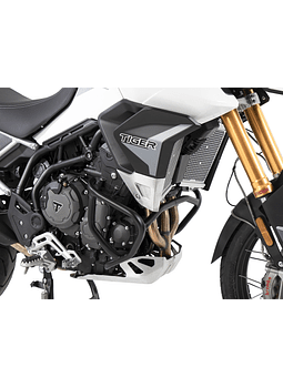 HEPCO&BECKER DEFENSA DE MOTOR TIGER 900 RALLY/GT/PRO NEGRA