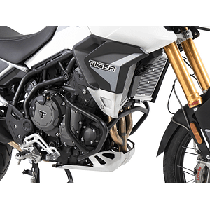 HEPCO&BECKER DEFENSA DE MOTOR TIGER 900 RALLY/GT/PRO NEGRA