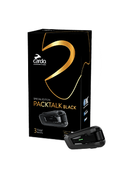 Intercomunicador Cardo Scala Rider Packtalk Black Edition Simple