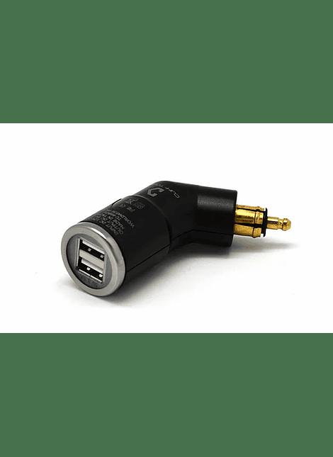 CLIFF-TOP - ADAPTADOR DIN 2 USB 3.3AMP