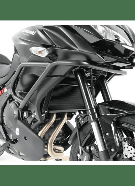 HEPCO & BECKER DEFENSA MOTOR NEGRA KAWASAKI VERSYS 650 (2015)