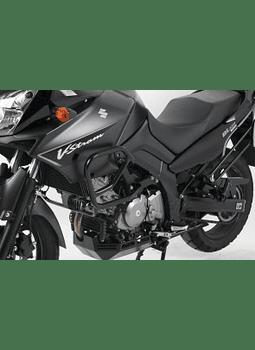 HEPCO & BECKER DEFENSA MOTOR NEGRA SUZUKI DL 650 V-STROM