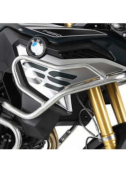 HEPCO & BECKER DEFENSA TANQUE BMW F 750/850 GS (2018-) INOX