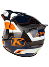 KLIM CASCO KRIOS PRO ADV KOROYD ECE / DOT STRIKING ORANGE