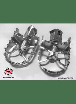 PIVOTPEGZ MK3 PEDALINES PIVOTEABLES BMW R1250, R1200, F850GS y F750GS