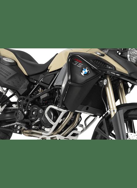 HEPCO & BECKER DEFENSA DE TANQUE NEGRA PARA BMW F 800 GS ADVENTURE (2013-2018)