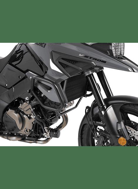 HEPCO & BECKER DEFENSA DE MOTOR NEGRA PARA SUZUKI V-STROM 1050 (2020-)