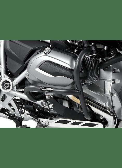 HEPCO & BECKER DEFENSA DE MOTOR ANTRACITA BMW R 1200 GS LC (2013-2018)