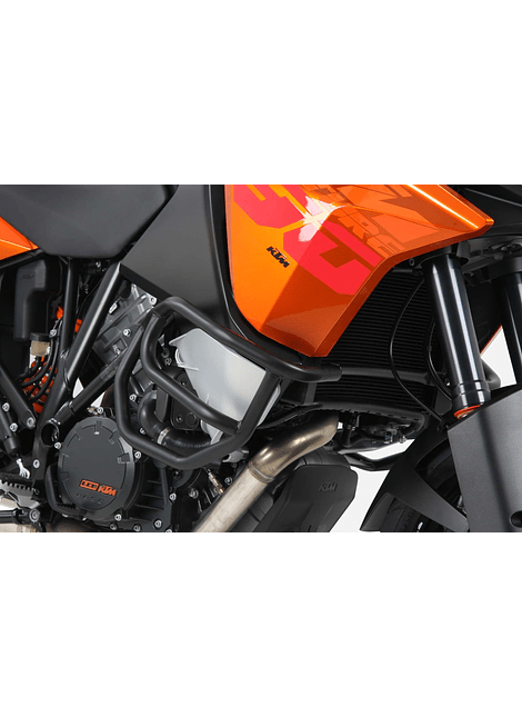 HEPCO & BECKER DEFENSA DE MOTOR NEGRA KTM 1050/1190 ADVENTURE (2013-)