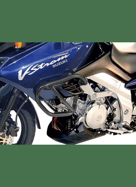 HEPCO & BECKER DEFENSA DE MOTOR NEGRA SUZUKI DL 1000 V-STROM (2002-2007)