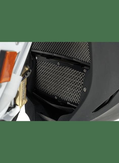 WUNDERLICH REJILLA DE PROTECCIÓN DEL RADIADOR DE ACEITE BMW S 1000 R/RR/XR - NEGRO